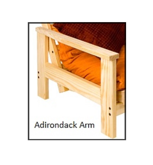 Futon Frame Twin Full Queen Avail Adirondack Armrest Starting At